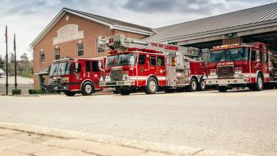 London Fire Department Hires Five Full-Time Firefighters with a Focus of Better Service and Looking Towards the Future