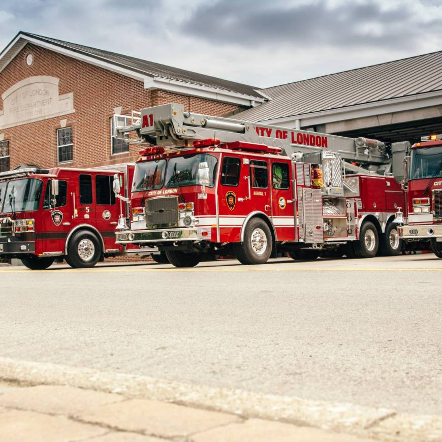 London Fire Department names new Officers