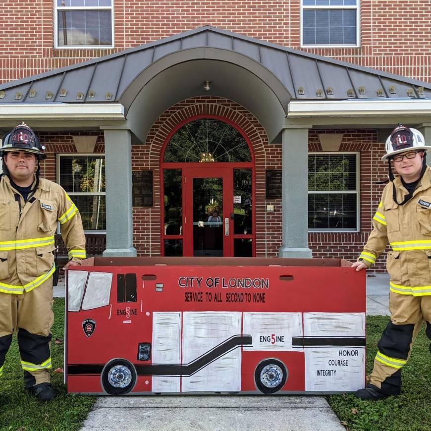 London Fire Department Announces Toy & Coat Drive