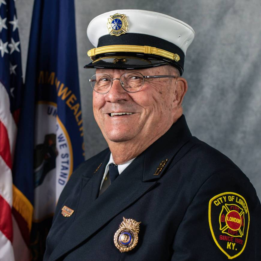 London Deputy Fire Chief Honored for 66 Years of Service